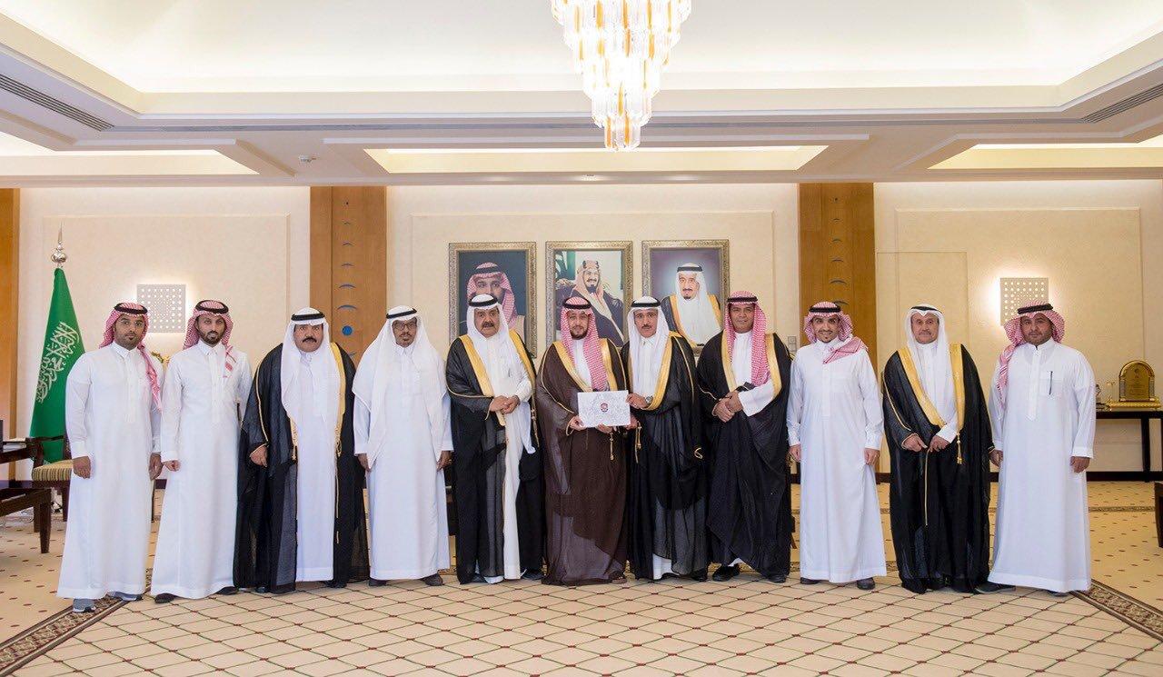 زيارة مجلس الإدارة لسمو أمير المنطقة